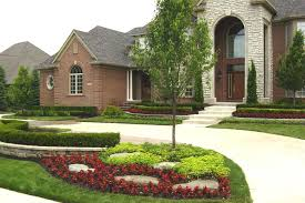 Ranch Style Home Landscaping Ideas For Front Yard Home Design Ideas - Home landscape design