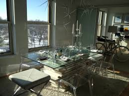 stacked linnmon x22 dining table w glass top