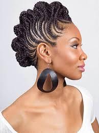 Black Braided Bun Hairstyles Braided Mohawk Hairstyles For Black Women Popular Black Braided