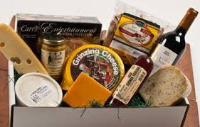 wine and cheese gift box at the cheese indianapolis indiana