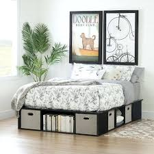high platform beds with storage. Plain High Platform Bed Frame With Storage Black Oak Full Size  And Baskets Flexible  Bullet High  With High Platform Beds Storage P