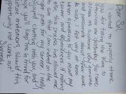 The Old School Thank You Note Executive Search Consulting Austin