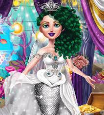 mermaid wedding makeover