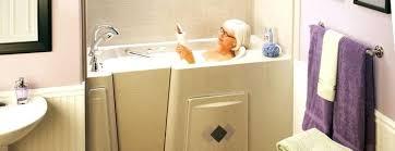 used walk in bathtubs walk in tub cost installed