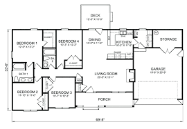 4 bedroom ranch house plans. Bedroom Ranch House Plans Simple Floor Models Dining Room Living . 1950s Makeover Remodel 4