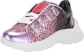 Shoes Of Soul Size Chart Amazon Com Love Moschino Womens Super Heart Sneaker Shoes