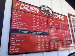 Hilo's original drive through cafe. Online Menu Of Just Cruisin Coffee Restaurant Hilo Hawaii 96720 Zmenu