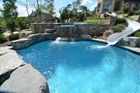 Huge Backyard Pool  Big Backyard Pool  Landscaping Ideas Huge Backyard Pool