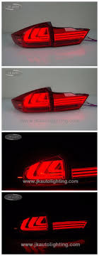 High Quality Light Guide Led Tail Lamp For Honda City Best Selling