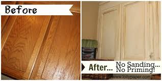 how to paint oak cabinets without sanding or priming lollypaper com chalk paint kitchen cabinets painting chalk paint is quick and easy to use and it