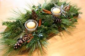 Pine Branches For Decoration Ideas For Winter Wedding Centerpieces