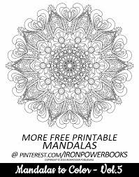 Small Picture FREE Advanced and detailed Mandala Coloring Page from Mandalas to