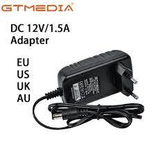 DC 12V/1.5A Adapter GTMEDIA Adapter EU/UK/US/AU Plug For GTMEDIA V8X/V8  Turbo/V9 Prime/V7 Pro/X8/GTC/GTCOMBO/GTS TV Set Top Box - Special Discount  #691B