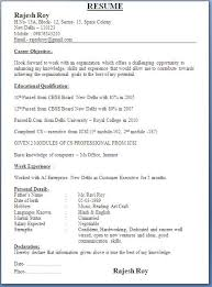 Over       CV and Resume Samples with Free Download  B Tech