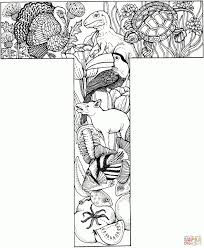 Coloring Pages Letter T Letter T Coloring Pages Free Coloring Pages