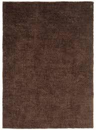 cloud soft plain brown chocolate rugs