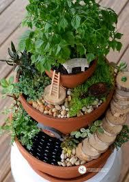 fairy garden kit for kids elegant flower pot miniature fairy gardens bystephanielynn