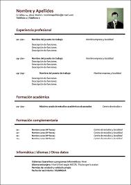 Bfd0f05 Formato De Resumen Curricular Para Rellenar