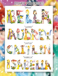 disney princess name painting ariel anna belle by legendbrush