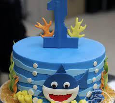 baby shark birthday cake ideas wiki cakes
