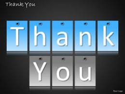 0314 Thank You Stylish Page Powerpoint Slides Diagrams