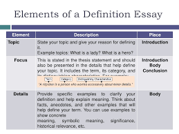 definition term or concept 5 your