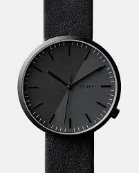 lehft all black mini st watch for men and women
