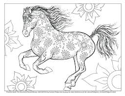 Horse Coloring Pages For Adults Horse Coloring Pages Horse Coloring