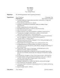 Pharmacy Technician Resume Objective Objective Objective For Pharmacy Technician Resume 80