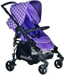 <b>Коляска</b> прогулочная <b>Everflo PP</b>-<b>07</b> C Purple сиреневый