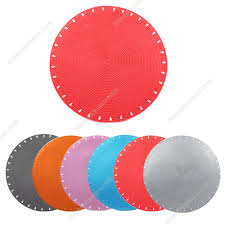 sheat straw round placemat 2054 colourful round placemat