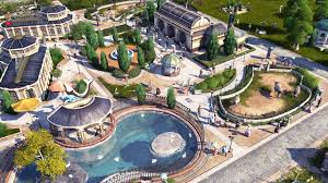 Green Layouts Anno 1800 Decorated Green City Building Layouts With 6 Lanes Road Large Zoo And Museum