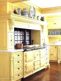 yellow country kitchens. Plain Country Blue And Yellow Kitchens Country Old World Oven In A Soft Kitchen With Red For T
