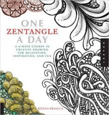 1 one zentangle a day