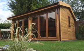 garden office sheds. Plain Office Opening Up The Front Of Building Bringing In Maximum Natural Light And  Expanding Surrounding Views And Garden Office Sheds O