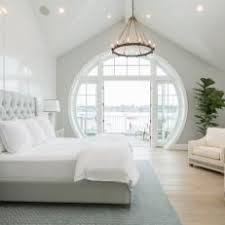 White Contemporary Master Bedroom Photos | HGTV