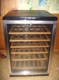 danby silhouette wine cooler. Fine Silhouette Danby Silhouette 65 Bottle Wine CoolerFreestanding Stainless With  Beechwood  EBay On Cooler N
