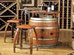 wine barrel furniture plans. Size 1152x864 Whiskey Barrel Furniture Plans Wine Bar Table And Stools