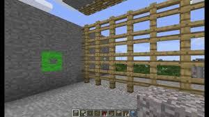 Minecraft Tutorial Castle Gate Portcullis YouTube
