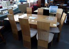 italian designer pietro costantini maple dining room 96 table 8 chairs