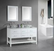 Double Bathroom Sink Cabinet Bathroom Clever Double Sink Vanities Home Design Ideas Ibuwe