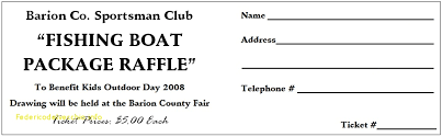 microsoft raffle ticket template microsoft word raffle ticket template inspirational template for a