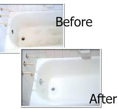 chipped porcelain tub how to fix a chip in a porcelain tub bathtub refinishing repairs