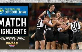 When is port adelaide vs geelong cats taking place? Gvysg 418xeivm