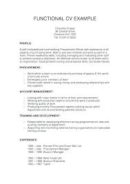 functional resume format example hybrid resume examples combination resume template word format tips