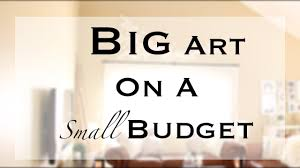 Big Size Cheap Large Wall Art Decorations Small Budget Home Interior Hanging  Inexpensive Phenomenal Painting