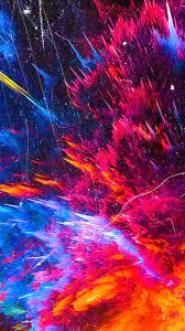 750x1334 Color Splash Mountains ...