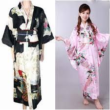 plus size silk robe plus size floral satin bath robe longue long janpanese kimono