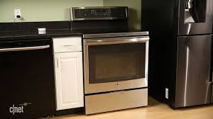 electric range countertop. Simple Range Astounding Stainless Steel Downdraft Electric Range With Black Countertop  Also Porcelain Wood Floor Intended