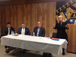 debbie dingell holds tps information session times herald and attorney michael zumberg left attorney nabih ayad u s citizenship and immigration services detroit field officer director michael klinger and u s rep